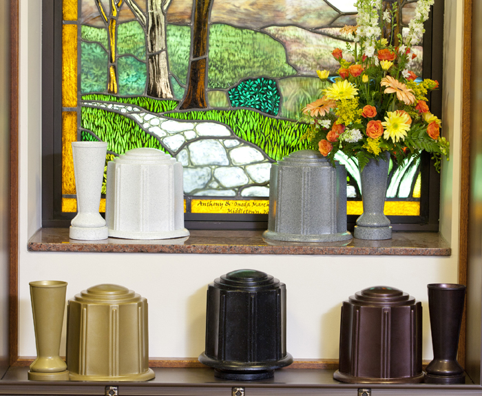 ForeverSafe™ Urns and Cemetery Vases